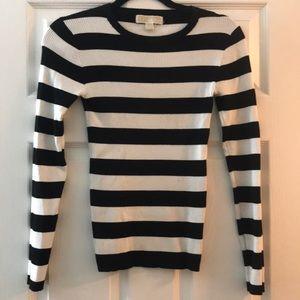 🗯Michael Kors🗯Crew Neck Striped sweater